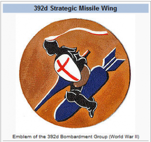 Emblem of the 392nd Bomb Group